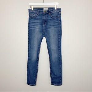 Current/Elliot Blue Skinny Jeans 28